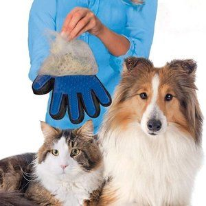 Pets Hair Removal Grooming Gloves
